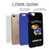 Collegiate Case for iPhone 7 / 8  – Hybrid Kansas Jayhawks - Personalized
