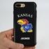 Collegiate Case for iPhone 7 Plus / 8 Plus  – Hybrid Kansas Jayhawks - Personalized
