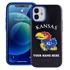 Collegiate Case for iPhone 12 Mini  – Hybrid Kansas Jayhawks - Personalized