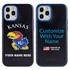 Collegiate Case for iPhone 12 Pro Max  – Hybrid Kansas Jayhawks - Personalized