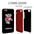 Collegiate Case for iPhone 6 Plus / 6s Plus  – Hybrid Wisconsin Badgers - Personalized