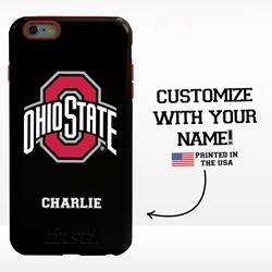 Collegiate Case for iPhone 6 Plus / 6s Plus – Hybrid Ohio State Buckeyes - Personalized