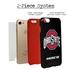 Collegiate Case for iPhone 7 Plus / 8 Plus – Hybrid Ohio State Buckeyes - Personalized