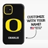 Collegiate Case for iPhone 11 – Hybrid Oregon Ducks - Personalized