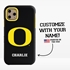 Collegiate Case for iPhone 11 Pro – Hybrid Oregon Ducks - Personalized