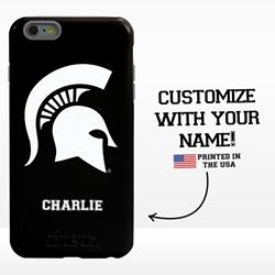 Collegiate Case for iPhone 6 Plus / 6s Plus – Hybrid Michigan State Spartans - Personalized