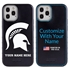 Collegiate Case for iPhone 12 Pro Max – Hybrid Michigan State Spartans - Personalized