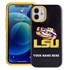 Collegiate Case for iPhone 12 Mini – Hybrid LSU Tigers - Personalized