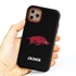 Collegiate Case for iPhone 11 Pro – Hybrid Arkansas Razorbacks - Personalized