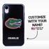 Collegiate Case for iPhone XR – Hybrid Florida Gators - Personalized