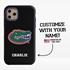 Collegiate Case for iPhone 11 Pro – Hybrid Florida Gators - Personalized