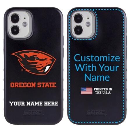 Collegiate Case for iPhone 12 Mini – Hybrid Oregon State Beavers - Personalized