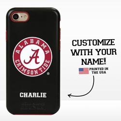 Collegiate Case for iPhone 7 / 8 – Hybrid Alabama Crimson Tide - Personalized