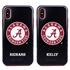 Collegiate Case for iPhone X / XS – Hybrid Alabama Crimson Tide - Personalized