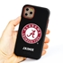 Collegiate Case for iPhone 11 Pro Max – Hybrid Alabama Crimson Tide - Personalized