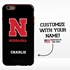 Collegiate Case for iPhone 6 Plus / 6s Plus – Hybrid Nebraska Cornhuskers - Personalized