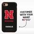 Collegiate Case for iPhone 7 / 8 – Hybrid Nebraska Cornhuskers - Personalized