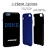 Collegiate Case for iPhone 6 Plus / 6s Plus – Hybrid Duke Blue Devils - Personalized