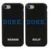 Collegiate Case for iPhone 7 / 8 – Hybrid Duke Blue Devils - Personalized