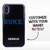 Collegiate Case for iPhone XS Max – Hybrid Duke Blue Devils - Personalized