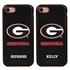 Collegiate Case for iPhone 7 / 8 – Hybrid Georgia Bulldogs - Personalized