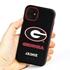 Collegiate Case for iPhone 11 – Hybrid Georgia Bulldogs - Personalized