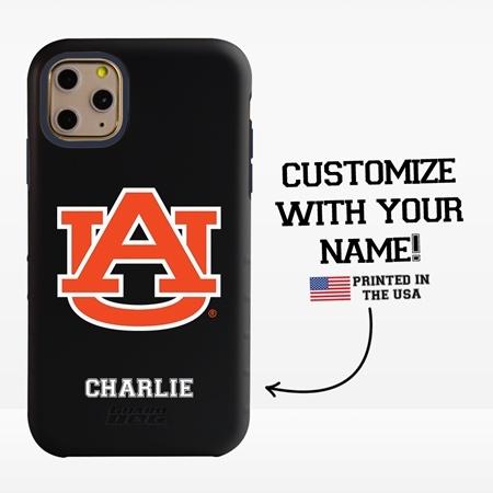 Collegiate Case for iPhone 11 Pro – Hybrid Auburn Tigers - Personalized