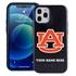 Collegiate Case for iPhone 12 Pro Max – Hybrid Auburn Tigers - Personalized