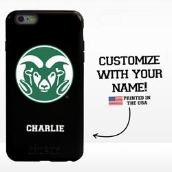 Collegiate Case for iPhone 6 Plus / 6s Plus – Hybrid Colorado State Rams - Personalized