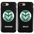 Collegiate Case for iPhone 7 Plus / 8 Plus – Hybrid Colorado State Rams - Personalized