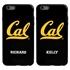Collegiate Case for iPhone 6 Plus / 6s Plus – Hybrid Cal Berkeley Golden Bears - Personalized