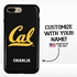 Collegiate Case for iPhone 7 Plus / 8 Plus – Hybrid Cal Berkeley Golden Bears - Personalized