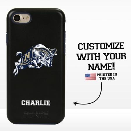 Collegiate Case for iPhone 7 / 8 – Hybrid Navy Midshipmen - Personalized