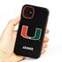 Collegiate Case for iPhone 11 – Hybrid Miami Hurricanes - Personalized