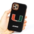 Collegiate Case for iPhone 11 Pro – Hybrid Miami Hurricanes - Personalized