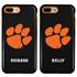 Collegiate Case for iPhone 7 Plus / 8 Plus – Hybrid Clemson Tigers - Personalized