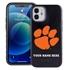 Collegiate Case for iPhone 12 Mini – Hybrid Clemson Tigers - Personalized