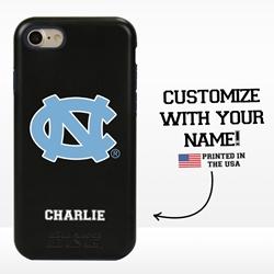 Collegiate Case for iPhone 7 / 8 – Hybrid North Carolina Tar Heels - Personalized