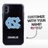 Collegiate Case for iPhone X / XS – Hybrid North Carolina Tar Heels - Personalized