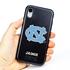 Collegiate Case for iPhone XR – Hybrid North Carolina Tar Heels - Personalized