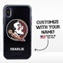 Collegiate Case for iPhone XS Max – Hybrid Florida State Seminoles - Personalized