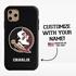 Collegiate Case for iPhone 11 Pro Max – Hybrid Florida State Seminoles - Personalized