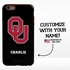 Collegiate Case for iPhone 6 Plus / 6s Plus – Hybrid Oklahoma Sooners - Personalized