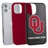 Collegiate Case for iPhone 12 Mini – Hybrid Oklahoma Sooners - Personalized