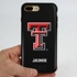Collegiate Case for iPhone 7 Plus / 8 Plus – Hybrid Texas Tech Red Raiders - Personalized