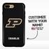 Collegiate Case for iPhone 7 Plus / 8 Plus – Hybrid Purdue Boilermakers - Personalized