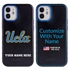Collegiate Case for iPhone 12 Mini – Hybrid UCLA Bruins - Personalized