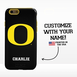 Collegiate Case for iPhone 6 / 6s  – Hybrid Oregon Ducks - Personalized