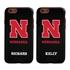 Collegiate Case for iPhone 6 / 6s  – Hybrid Nebraska Cornhuskers - Personalized