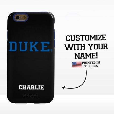 Collegiate Case for iPhone 6 / 6s  – Hybrid Duke Blue Devils - Personalized